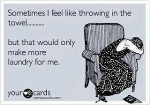 hate laundry!