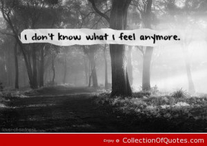 heartbroken quotes i don t know what i feel anymore 2