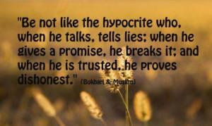 Hypocrite People Quotes I hate hypocrite