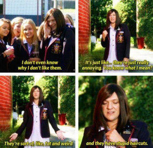 ... for this image include: bitch, funny, jamie, quote and ja'mie king