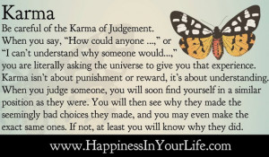 Karma - The Karma of Judgement