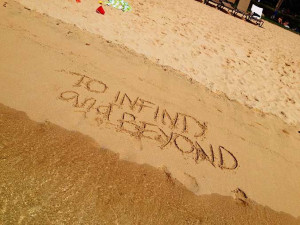 Disney Quotes in sand, quotes