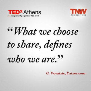 Great quote on content sharing