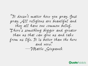 Mattie Stepanek