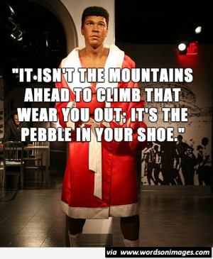 boxer quotes The legend muhammad ali is responsible for some of the most legendary moments in the ring his incomparable work ethic, revolutionary techniques, and fearlessness.