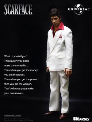 Re: Blitzway- Al Pacino- Scarface 1/6th figure teaser pic