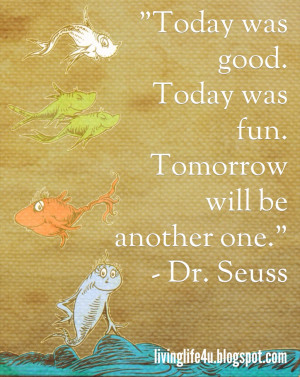 Dr. Seuss Quotes - Day 6