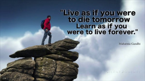 Silent Journey Inspirational Quotes By Mahatma Gandhi