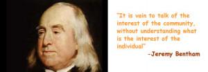 Jeremy Bentham Philosopher, Living Philosophy, Edinburgh, Scotland UK