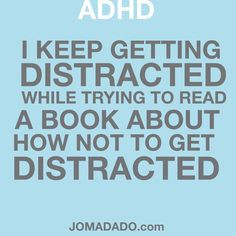 attention deficit disorder fun by jomadado com more adhd attention ...