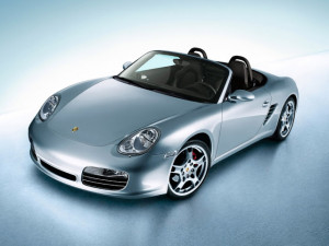 """On the Porsche Boxster] """"It couldn't pull a greased stick out ..."""