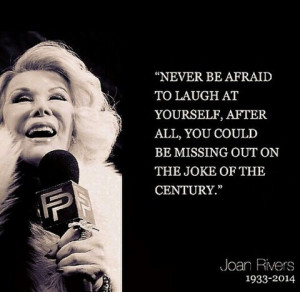 Joan Rivers Forever: Our 10 Favorite Quotes From A Fashion Legend