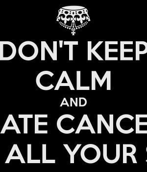 hate cancer - Google Search