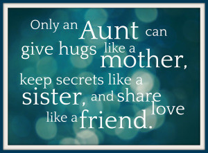 Cute Aunt Quotes and Sayings