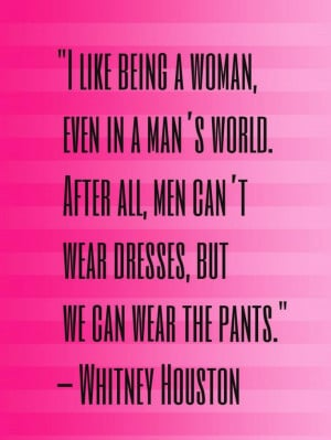 Whitney Houston fashion quote