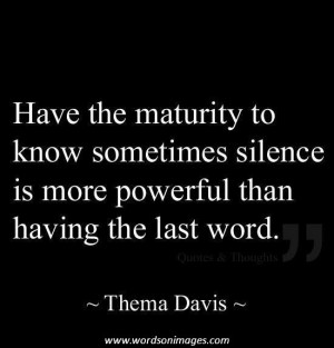 Maturity Quotes Maturity Comes With Experience