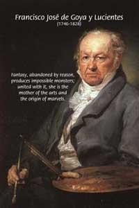 Self Portrait, Francisco de Goya, (1746 - 1828)