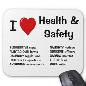 zazzle.com.auI Love Health and Safety - Funny Rude Mousepad - Zazzle