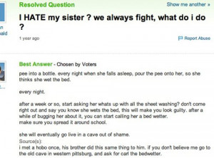 This is how you take revenge against your sister..