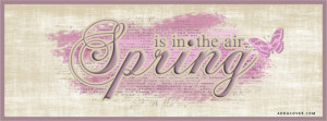 Spring is in the Air Facebook Cover