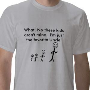 favorite uncle tshirt