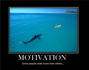Motivation? Can't be Arsed.