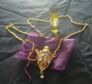 One Night With The King Esther Necklace The pendant is about 2 1/2