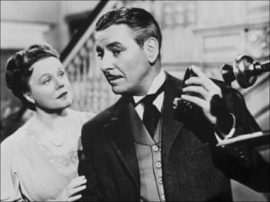 Ronald Colman and Peggy Cummins: The Late George Apley 1947