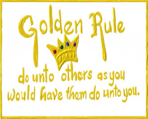 The Corruption of the Golden Rule