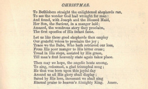 religious christmas poem for children