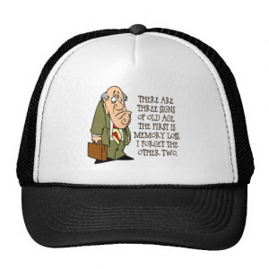 Funny Senior Citizen Gift Hats