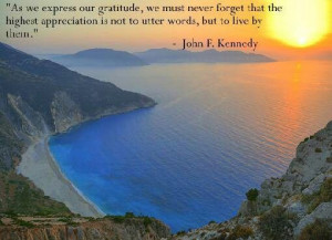 As we express our gratitude, we must....