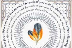 Native American Wedding Blessing