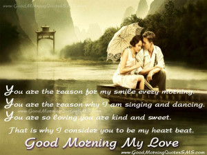 ... Couples Love Good Morning Quotes Pictures – GM wishes for her