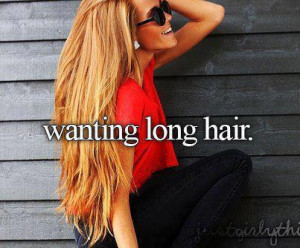 Long Hair #Wishing #I wish i had long hair #pretty girl #blonde