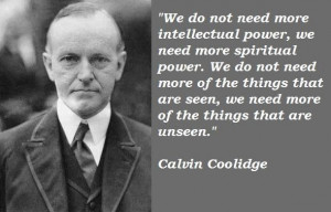 Calvin coolidge famous quotes 4