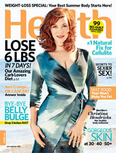 Christina Hendricks Loves Her Curvy Body!