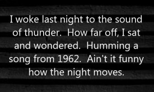 Bob Seger - Night Moves - song lyrics, song quotes, songs, music ...