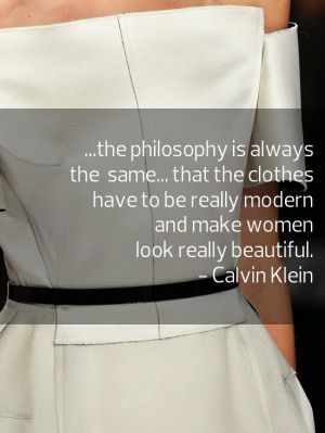 Calvin Klein #quote