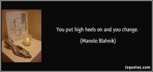 Shoes High Heels Heel...