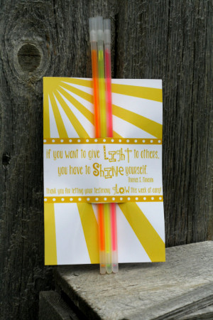 Girls camp handouts - Testimony quote INSTANT download / Young Women ...