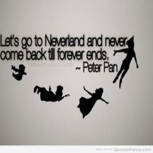 PeterPan neverland Quotes | Quotes Frenzy