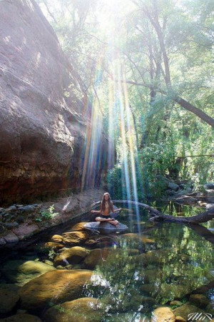 Beautiful spot to meditate