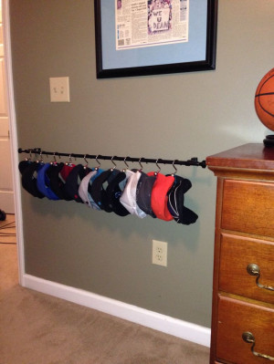 welcome bro!: Hats Organizations Diy'S, Rooms Idea, Diy'S Hats Racks ...