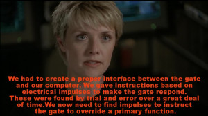 Re: Favorite funny quotes of RDA from Stargate SG1