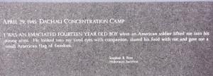 Holocaust Quotes New england holocaust memorial