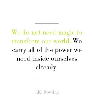 Rowling: Inspirational Quotes for Graduates - mom.me