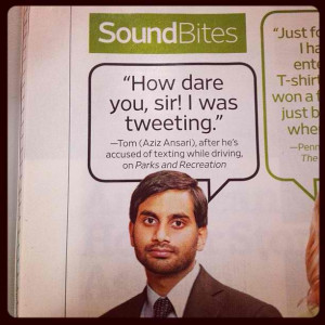 Tom Haverford.