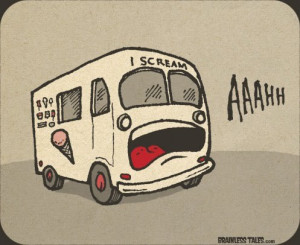 funny, i scream, ice cream