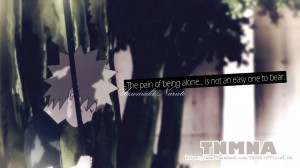The pain of being alone is not an easy one to bear.